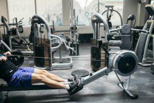 rameur appareil de fitness